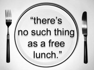 هيچ ناهار رایگانی وجود ندارد!